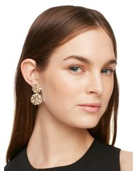 Kate Spade | Metallic Pick A Pearl Drop Earrings | Lyst