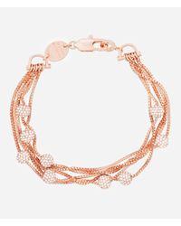 Henri Bendel - Pink Luxe Muse Ball Layered Bracelet - Lyst