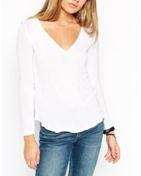 ASOS - White The New Forever T-shirt With Long Sleeves - Lyst