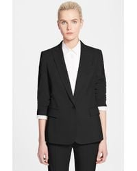 Stella McCartney | Black 'ingrid' Wool Jacket | Lyst