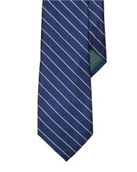 Lauren by Ralph Lauren | Blue Striped Silk Tie for Men | Lyst