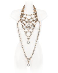 Lucia Odescalchi | Metallic Hag Chain Necklace | Lyst
