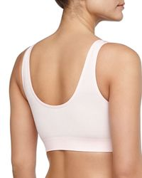 Wacoal | Pink B-smooth Contour Bralette | Lyst