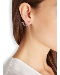 Ca&Lou | Metallic Pixie Silver Plated Swarovski Earrings | Lyst