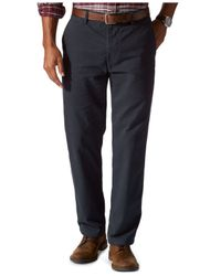 Dockers | Blue D3 Classic-fit Flat-front Field Khaki Pants for Men | Lyst