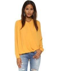 d.RA | Yellow Jivan Top | Lyst