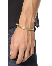 Miansai | Metallic U Cuff for Men | Lyst