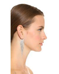Kenneth Jay Lane - Multicolor Polished Fringe Earrings - Lyst
