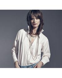 Jenny Bird - Metallic Oria Necklace - Lyst
