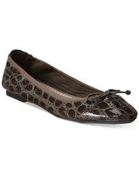 Rialto | Brown Sunshine Stretch Flats - A Macy's Exclusive Style | Lyst