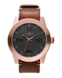 Nixon - Pink 'the Corporal' Watch for Men - Lyst