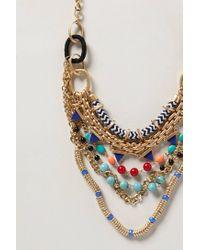 Anthropologie - Multicolor Mixlink Necklace - Lyst