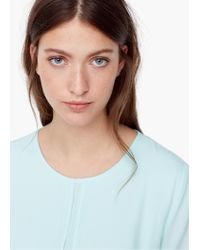 Mango | Blue Double-layer Blouse | Lyst