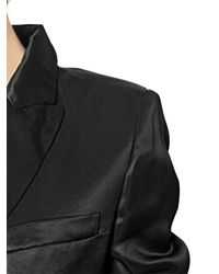 Vivienne Westwood   Black Viscose Satin Jacket   Lyst