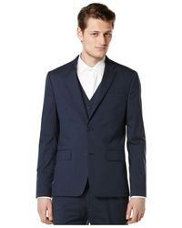 Perry Ellis | Blue Slim-fit Solid Suit Jacket for Men | Lyst