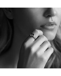 David Yurman - Metallic Noblesse Ring With Gold - Lyst