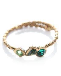 ALEX AND ANI | Metallic Vintage 66 Treasure Trove Wrap Bangle | Lyst