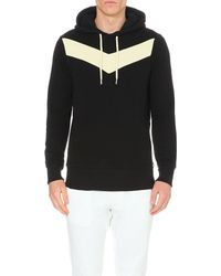 DIESEL | Black S-mangala-a Cotton-jersey Hoody for Men | Lyst