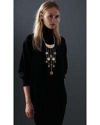Jenny Bird - Metallic Lunadance Necklace - Lyst