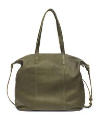 Lucky Brand | Green Medine Leather Tote | Lyst
