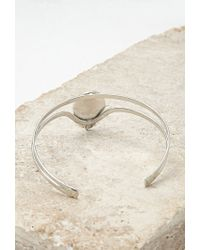 Forever 21 - Metallic Faux Stone Arm Band - Lyst