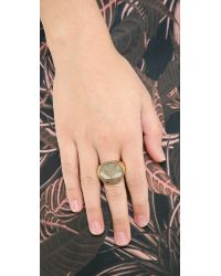 Kelly Wearstler - Metallic Cleo Ring - Lyst