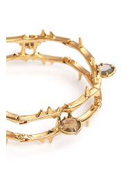 Alexander McQueen - Metallic Skull Vine Chain Bracelet - Lyst