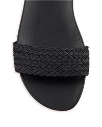 Nine West | Black Hadley T-back Sandals | Lyst