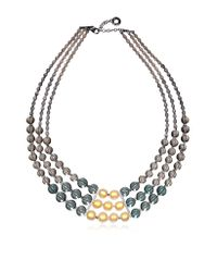 Antica Murrina | Gray Atelier Nuance - Grey & Amber Murano Glass Choker | Lyst