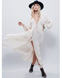 Free People - White Whatta Babe Dress - Lyst