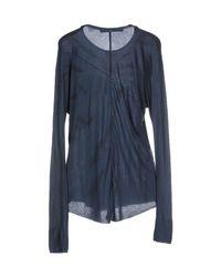 Superfine - Blue T-shirt - Lyst