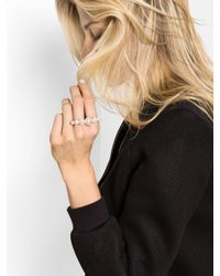 BaubleBar - Metallic Pearl Two-finger Ring - Lyst