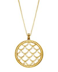 John Hardy | Metallic 18k Gold Naga Pendant Necklace | Lyst