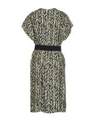 Balenciaga - Yellow Knee-length Dress - Lyst