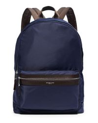 Michael Kors | Blue Tech Back Pack | Lyst