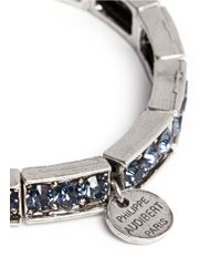 Philippe Audibert - Metallic Mattia Blue Stone Bracelet - Lyst