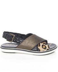 Sam Edelman - Natural Jolan Brahma Sandals - Lyst