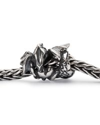 Trollbeads - Metallic Love Dragon Bead Charm - Lyst