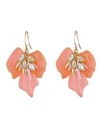 Alexis Bittar - Metallic Floral Punk Orchid Wire Earrings - Lyst
