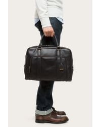 Frye | Black Richard Vintage Work Bag for Men | Lyst