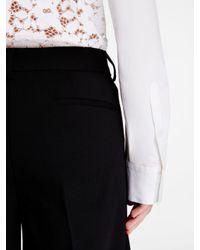 DKNY - Black Wool Long Short - Lyst