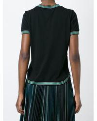 Ferragamo - Multicolor Lily Print T-shirt - Lyst