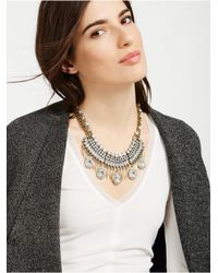 BaubleBar - Metallic Petra Collar - Clear - Lyst