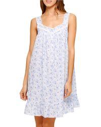 Eileen West | Bayside Blues Nightgown | Lyst