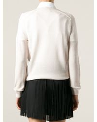 Vanessa Bruno Athé - Natural V-Neck Sweater - Lyst