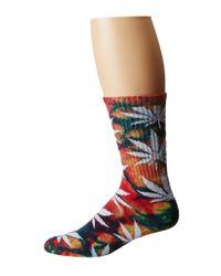 Huf | Multicolor Tie Dye Plantlife Sock | Lyst