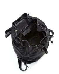 Alexander McQueen - Black Padlock Backpack - Lyst