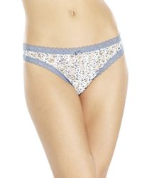 DKNY - Multicolor Lace Thong - Lyst