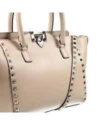 Valentino - Natural Women's Handbag - Lyst