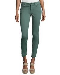 CJ by Cookie Johnson | Green Wisdom Ankle Skinny Denim Jeans | Lyst